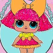 скрин игры Куклы Лол: Королева блесток