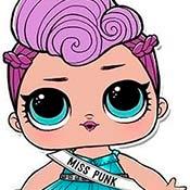 скрин игры Куклы Лол: Мисс Панк