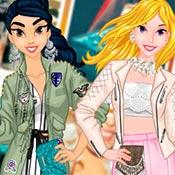 скрин игры Одевалка: Весенние тренды