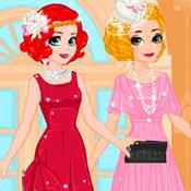 скрин игры Рапунцель и Ариэль: Ретро костюмы