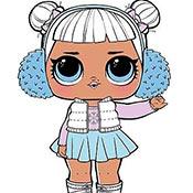скрин игры Раскраска куклы Лол