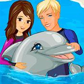скрин игры Шоу дельфинов 2