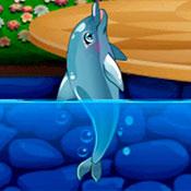 скрин игры Шоу дельфинов 5