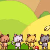 скрин игры Ударный отряд котят 1