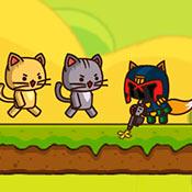 скрин игры Ударный отряд котят 2