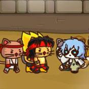 скрин игры Ударный отряд котят 4: Лига воинов