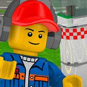скрин игры Аэропорт в Лего сити