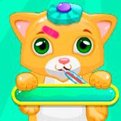 скрин игры Кошки: Лечим пушистиков