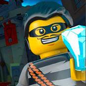 скрин игры Лего сити: Преступники и алмаз