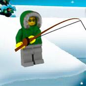 скрин игры Лего сити: Веселая рыбалка