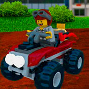 скрин игры Машины в Лего сити