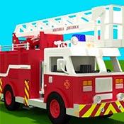 скрин игры Пазл с грузовиками