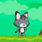 скрин игры Приключения котенка