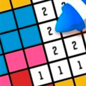 скрин игры Раскраска для девочек по номерам