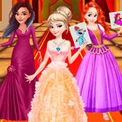 скрин игры Раскраска для девочек: Принцессы