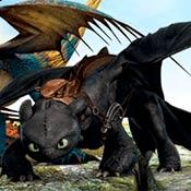 скрин игры Раскраска: Как приручить дракона