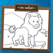 скрин игры Раскраска: Сафари и ферма