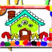 скрин игры Яркие домики