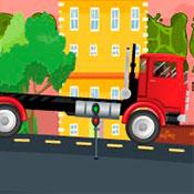 скрин игры Дальнобойщик: Доставка автомобилей