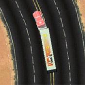 скрин игры Дальнобойщик: Трасса в пустыне