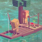 скрин игры Выживание на плоту
