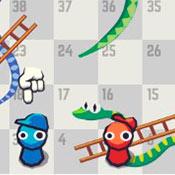 скрин игры Змея и лестница