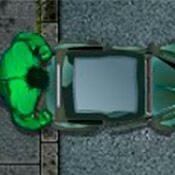скрин игры Халк на парковке