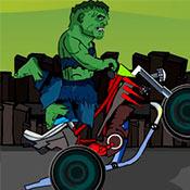 скрин игры Халк: Погоня на мотоцикле