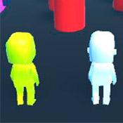 скрин игры Human Runner 3D