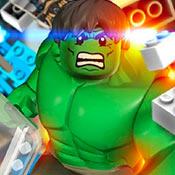 скрин игры Лего Халк