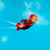 скрин игры Лего Железный человек