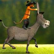 скрин игры Осел и Кот: Опасное приключение