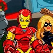 скрин игры Железный человек и Мстители