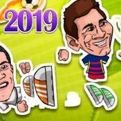 Скрин игры Футбол головами: Легенды 2019 года