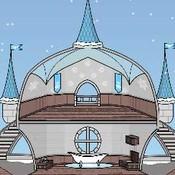 Скрин игры Дом для Снежной принцессы