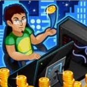 Скрин игры Кликер биткоинов
