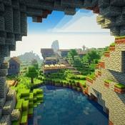 Скрин игры Майнкрафт Земля