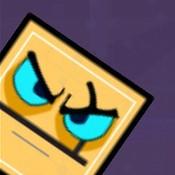 Скрин игры Геометрия даш: Злой кубик