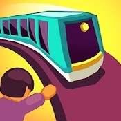 Скрин игры Train Taxi