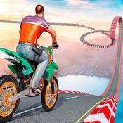 Скрин игры Трюки на мотоциклах