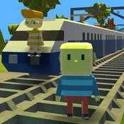 Скрин игры Когама на поезде