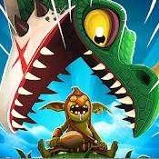 Скрин игры Hungry Dragon