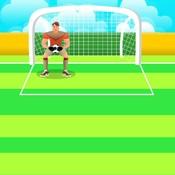 Скрин игры Серия пенальти