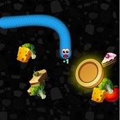 Скрин игры Червячки едят продукты
