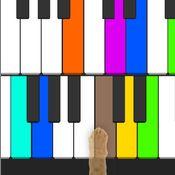 Скрин игры Пианино для кота
