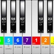 Скрин игры Пианино для обучения