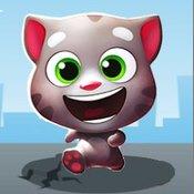 Скрин игры Бегалки кота Тома