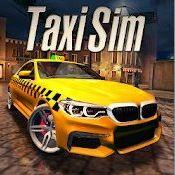 Скрин игры Taxi Sim 2020