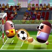 Скрин игры 3D футбол головами