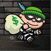 Скрин игры Ловкий грабитель Боб